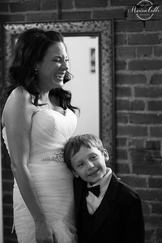 Bride Getting Ready | Marissa Cribbs Photography | KC Wedding Photographer