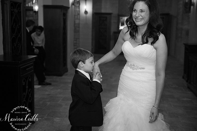 Mother Son Dance | KC Wedding Reception | Cellar 222 | KC Wedding Photographer | Marissa Cribbs Photography