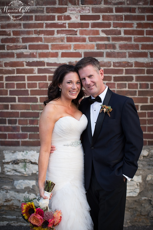 Bride & Groom Portrait | Marissa Cribbs photography | KC Wedding Photographer