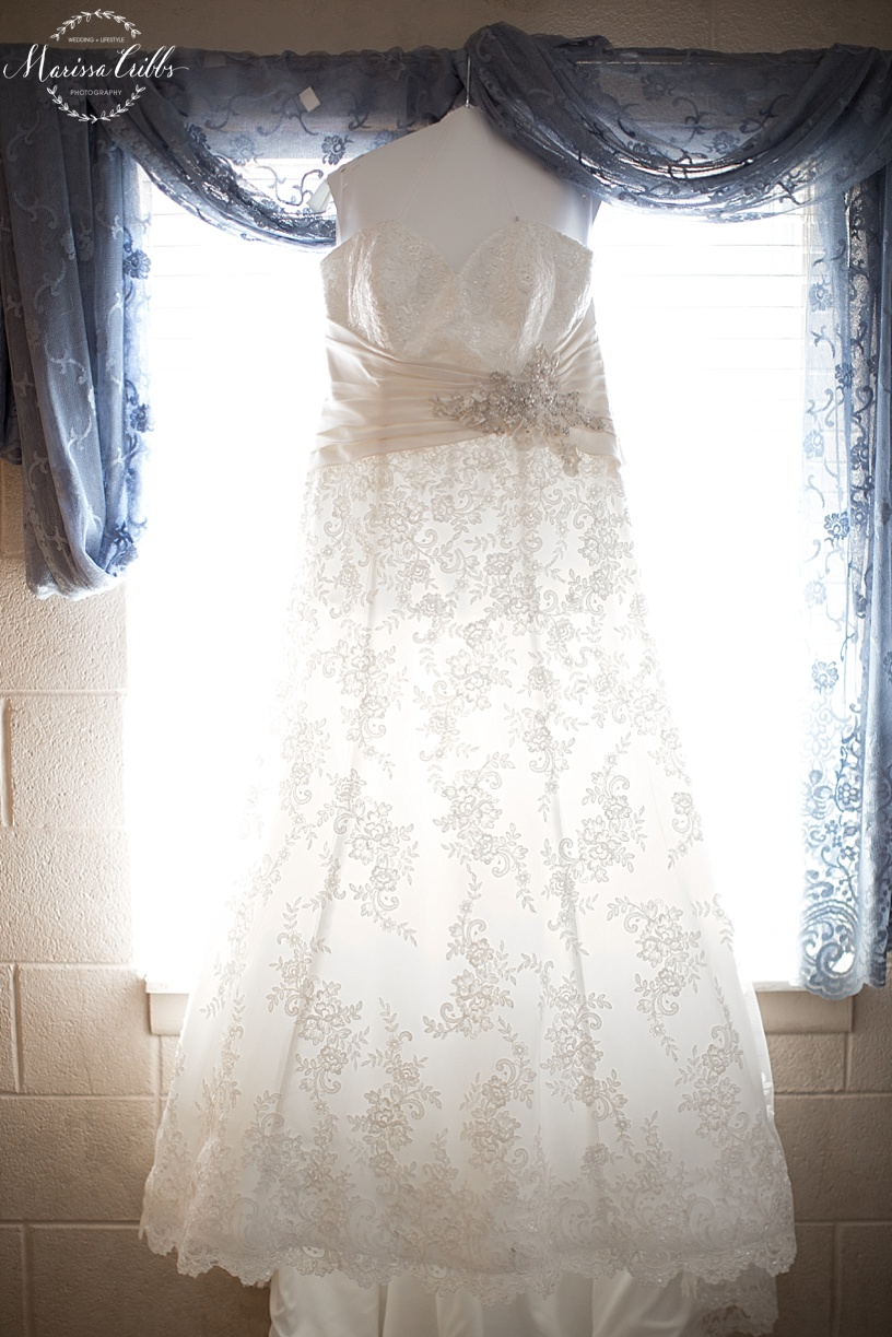 Bridal Gown | KC Wedding Photographer | Marissa Cribbs Photography