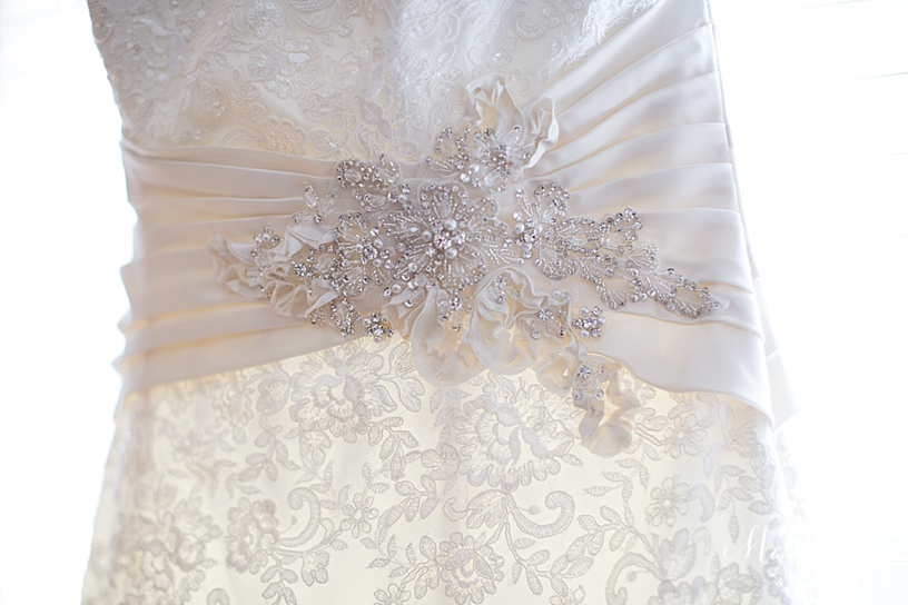 Bridal Gown | Wedding Gown Detail | Lace | KC Wedding Photographer | Marissa Cribbs Photography