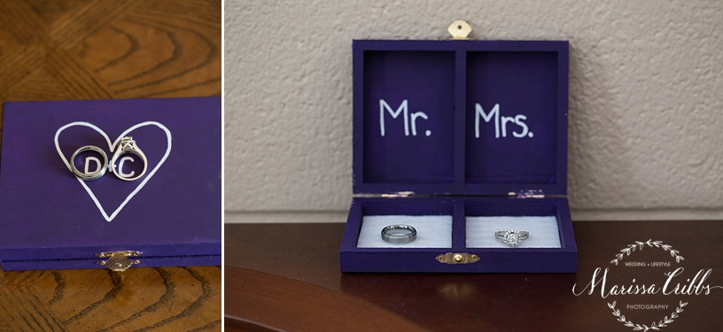 Wedding Rings | KC Wedding Photographer | Marissa Cribbs Photography