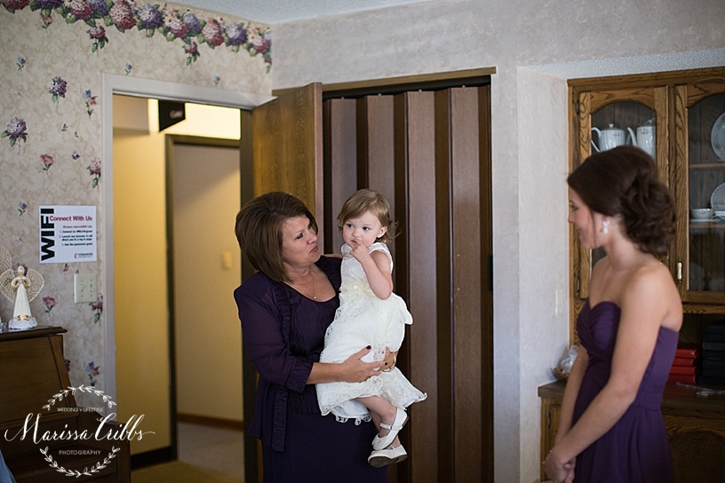 Tonganoxie, KS Wedding Ceremony | KC Wedding Photographer | Marissa Cribbs Photography