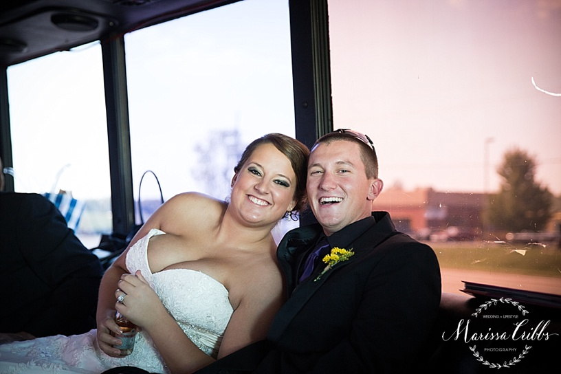 KC Night Train Party Bus | KC Wedding Photographer | Marissa Cribbs Photography