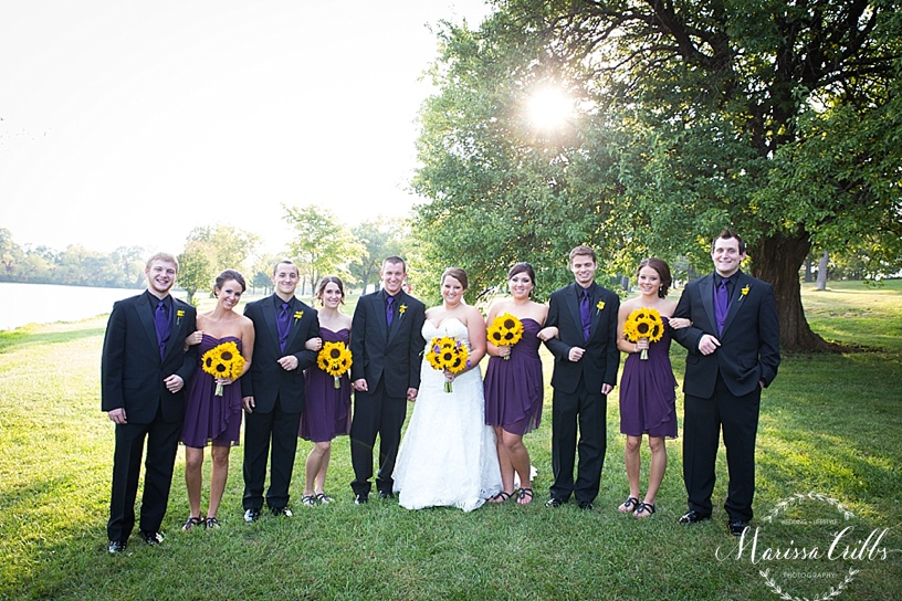 Bridal Party Pictures | KC Wedding Photographer | Marissa Cribbs Photography | Bridal Party