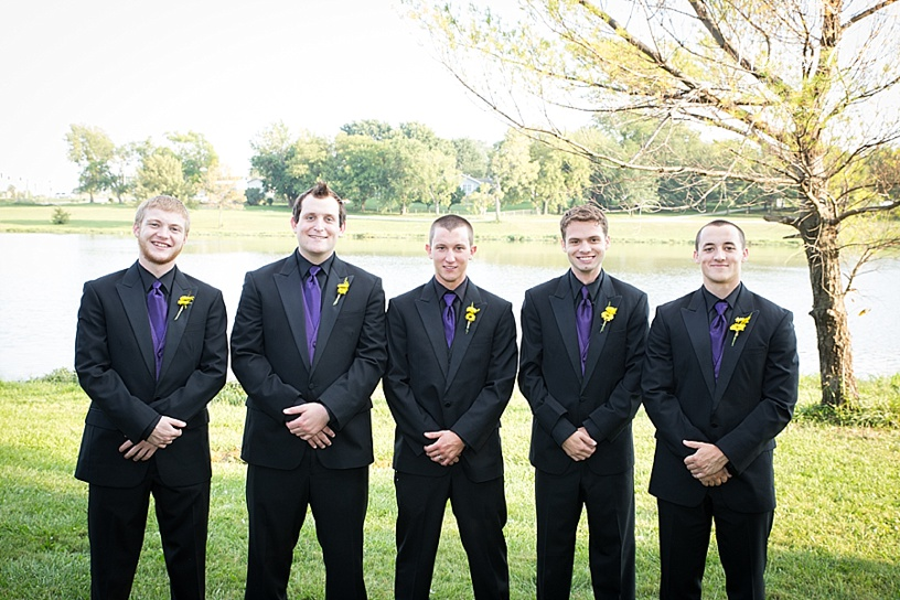 Bridal Party Pictures | KC Wedding Photographer | Marissa Cribbs Photography | Groomsmen