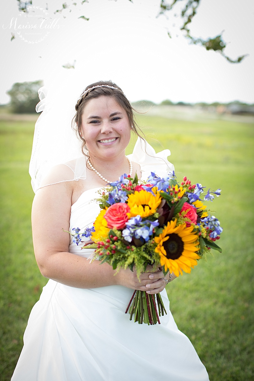 Bridal Bouquet | Bride | Marissa Cribbs Photography