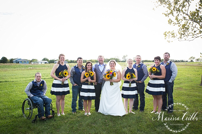 Bridal Party | Wedding Photos | Marissa Cribbs Photography