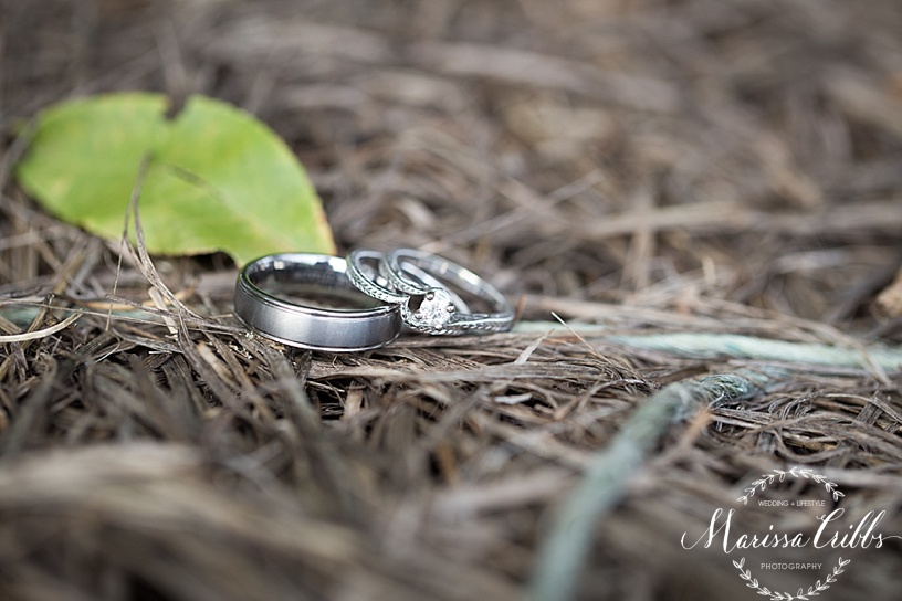 Wedding Rings | Marissa Cribbs Photography