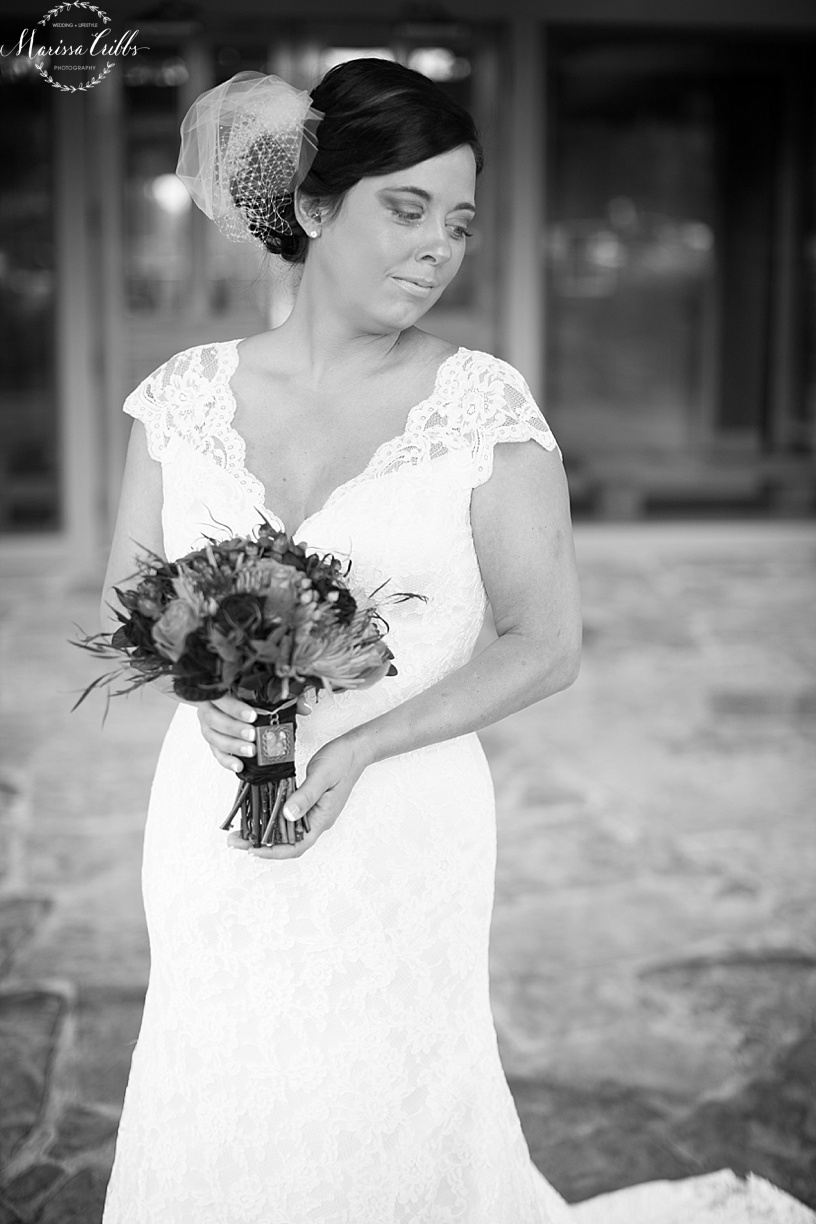 KC Weddings | Deer Creek Golf Club | Bridal Portraits | Marissa Cribbs Photography