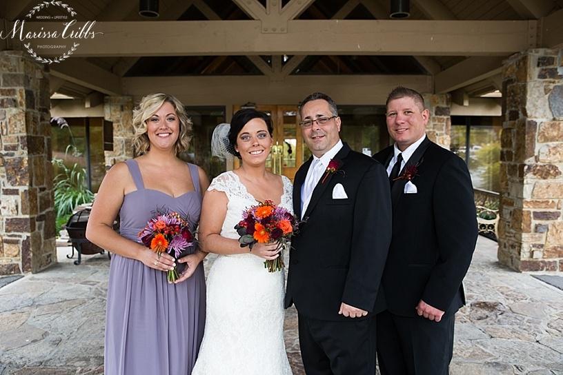 KC Weddings | Deer Creek Golf Club | Bridal Party Portraits | Marissa Cribbs Photography
