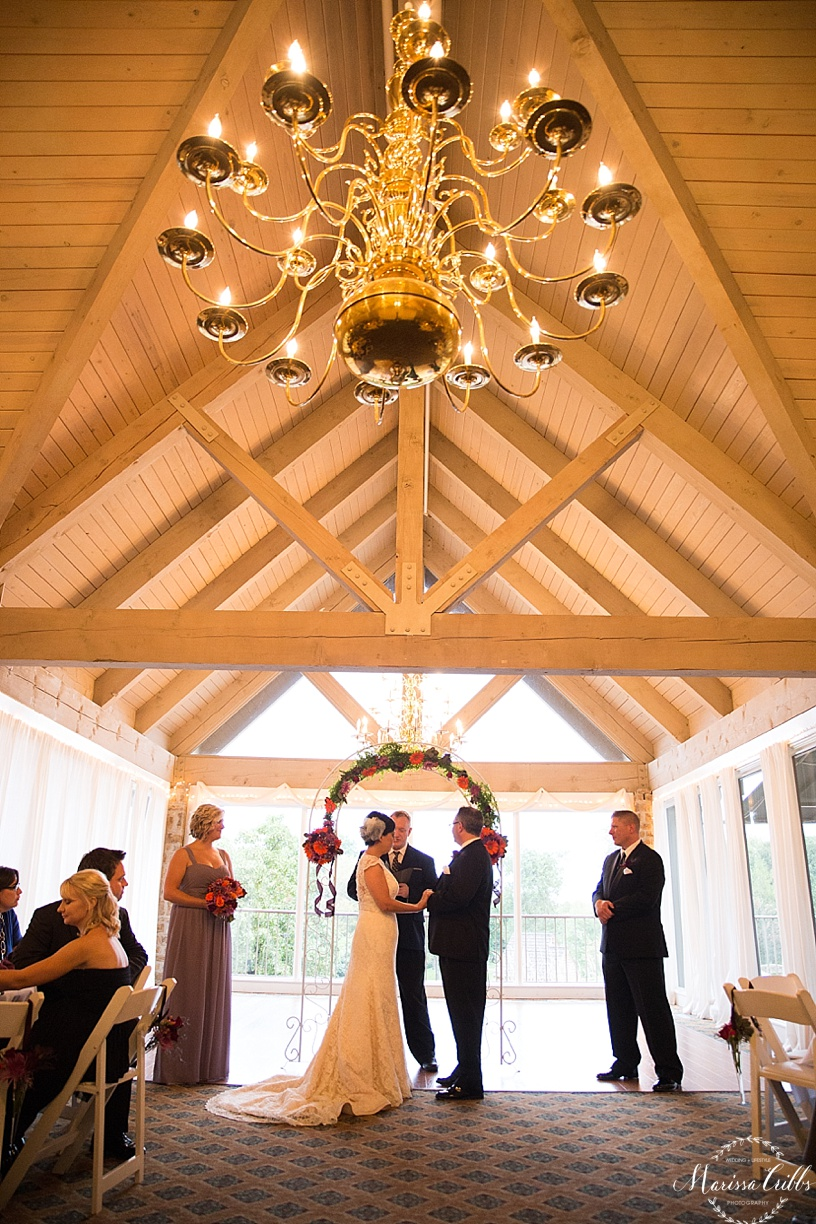 KC Weddings | Deer Creek Golf Club | Marissa Cribbs Photography