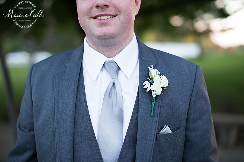 Groom | Marissa Cribbs Photography | KC wedding photographer