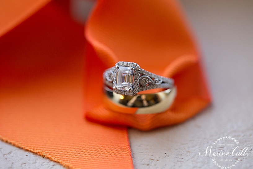 Bride getting ready | KC Weddings | Wedding Rings