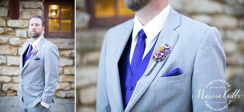 Groom Portraits | KC Weddings | James P. Davis Hall