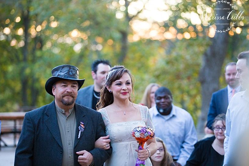 Wedding Ceremony | KC Weddings | James P. Davis Hall