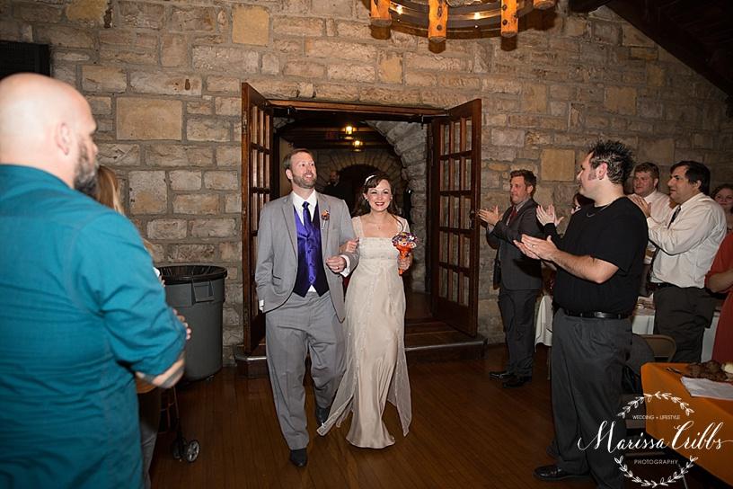 Bride & Groom Entrance | KC Weddings | James P. Davis Hall