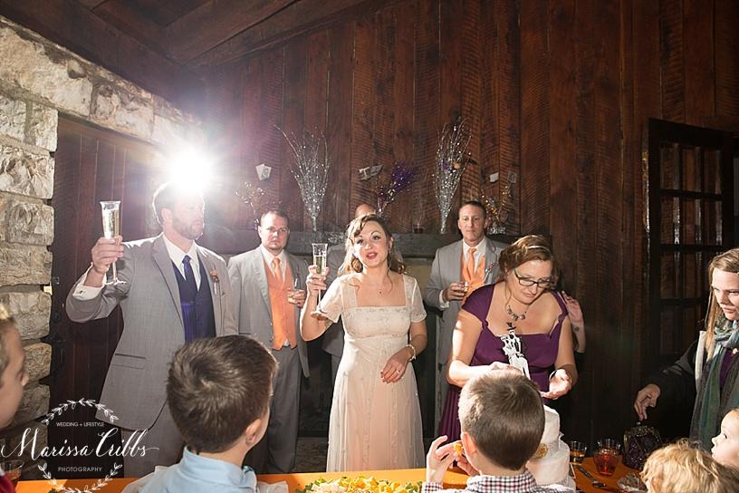 Toasts | KC Weddings | James P. Davis Hall