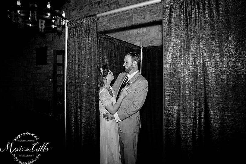 Bride and Groom | Photo Booth | KC Weddings | James P. Davis Hall