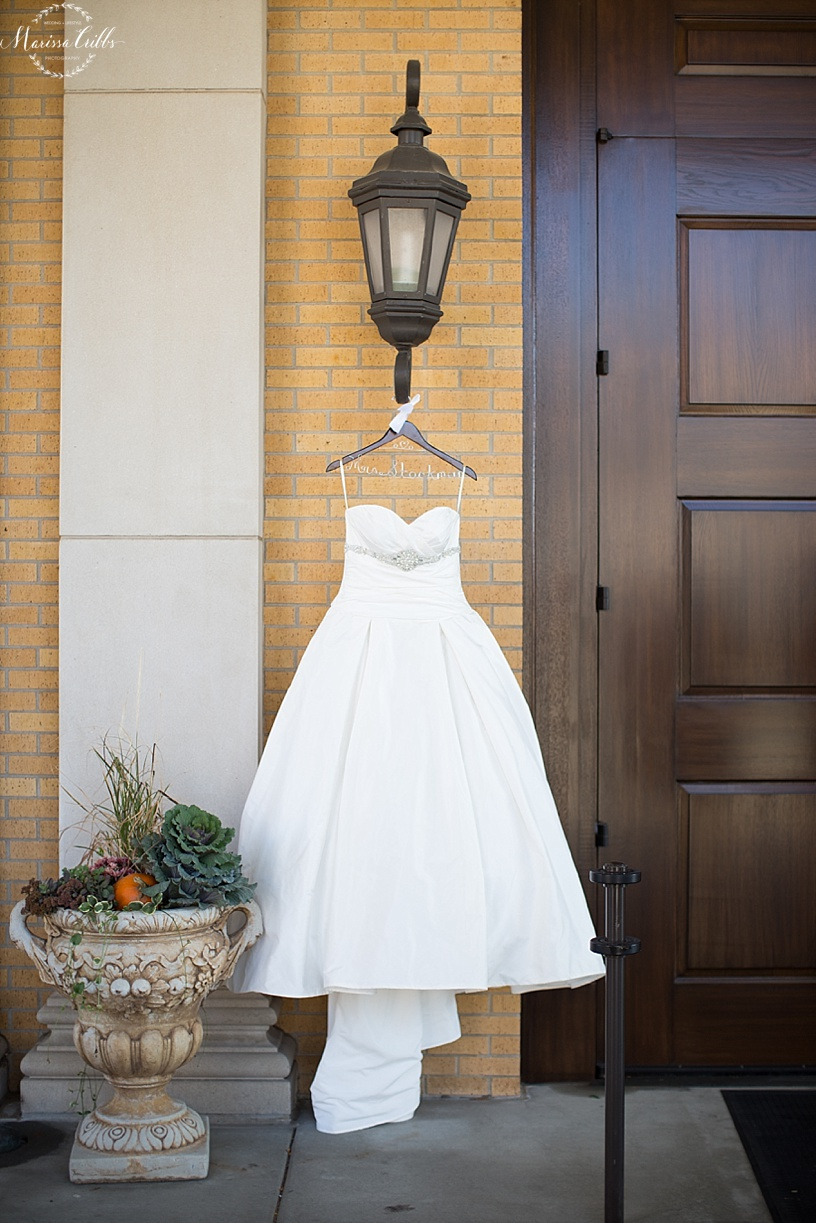 St. Michael The Arch Angel | Leawood, KS | Marissa Cribbs Photography | Wedding Ceremony | Wedding Gown