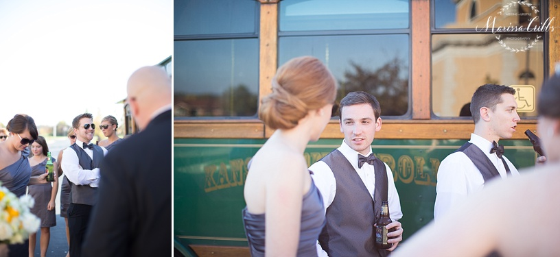 Wedding Party | Trolley | Marissa Cribbs Photography