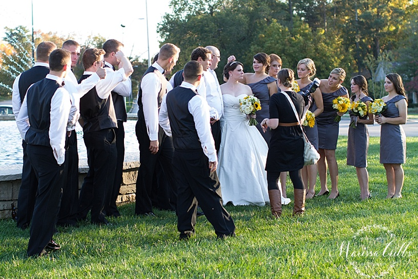 Behind The Scenes | Marissa Cribbs Photography | KC Weddings
