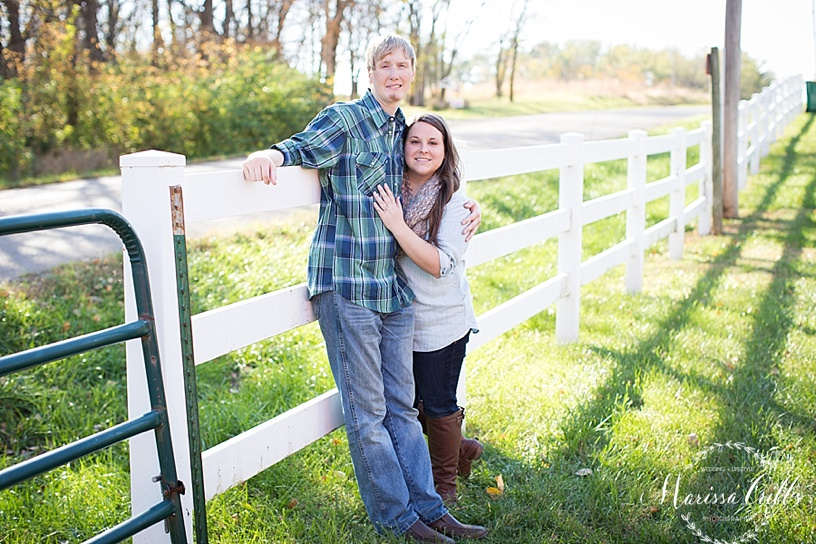 Topeka, KS Engagement Session | Marissa Cribbs Photography