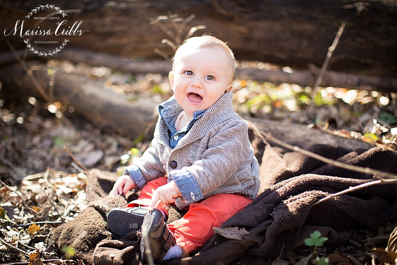 KC Family Photographer | KC Baby Photography | Marissa Cribbs Photography | Fall Family Photos | Fall Portraits