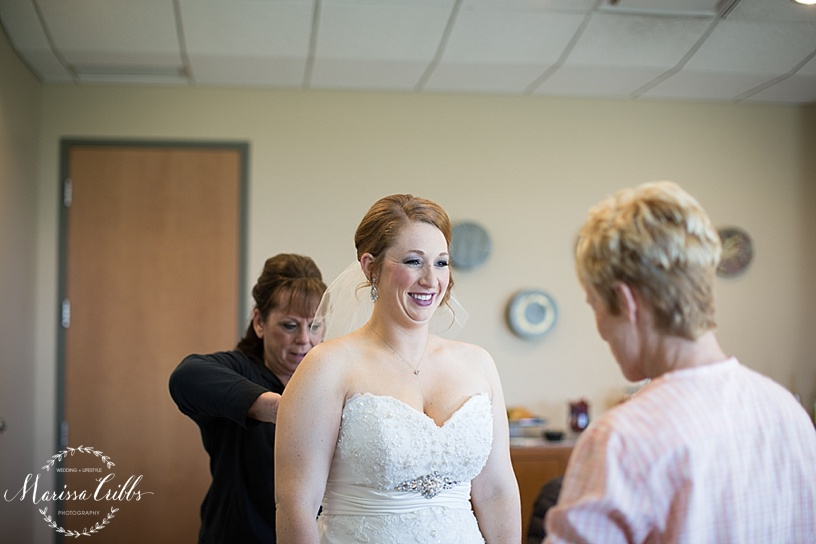 Getting ready | Ball Conference Center | KC Wedding Photographer | Marissa Cribbs Photography