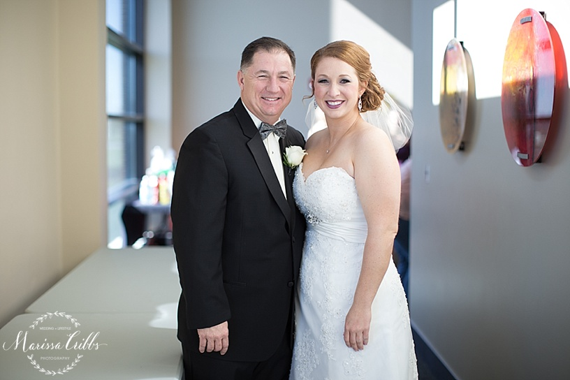 Father of the bride | Getting ready | Ball Conference Center | KC Wedding Photographer | Marissa Cribbs Photography
