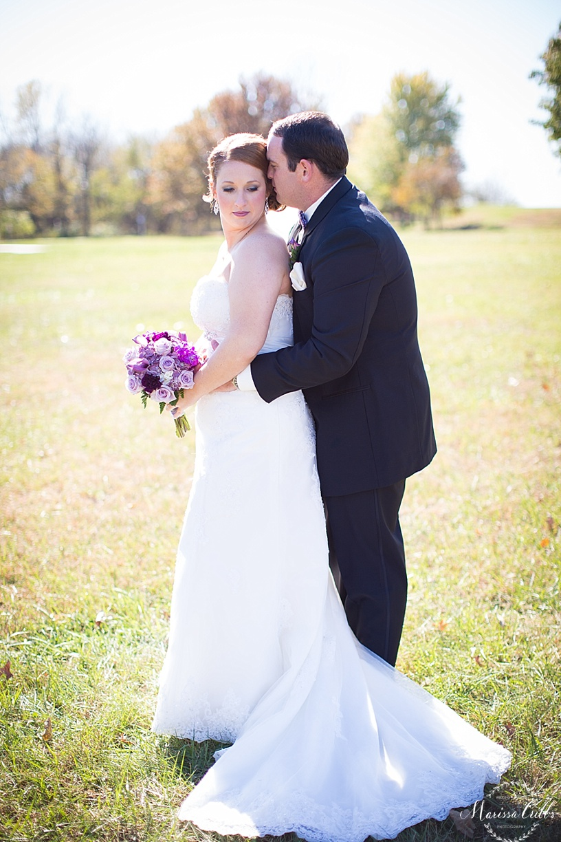 Bride and Groom Photos | KC Wedding Photography | Marissa Cribbs Photography