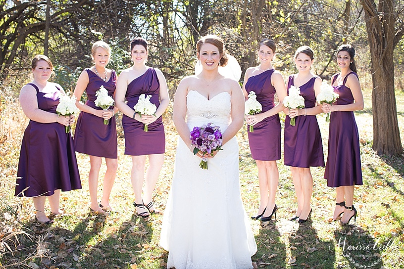 Bridesmaids | Bridal Photos | KC Wedding Photography | Marissa Cribbs Photography
