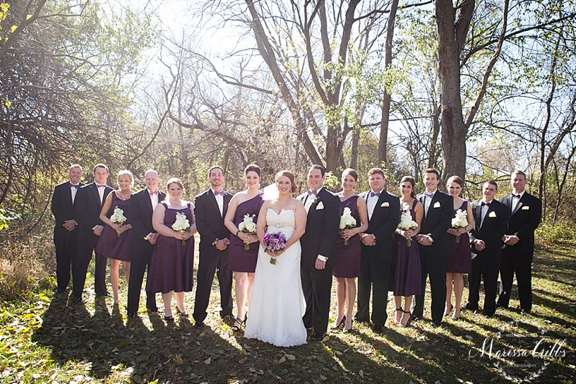 Wedding Party Photos | Bridesmaids | Bridal Photos | KC Wedding Photography | Marissa Cribbs Photography