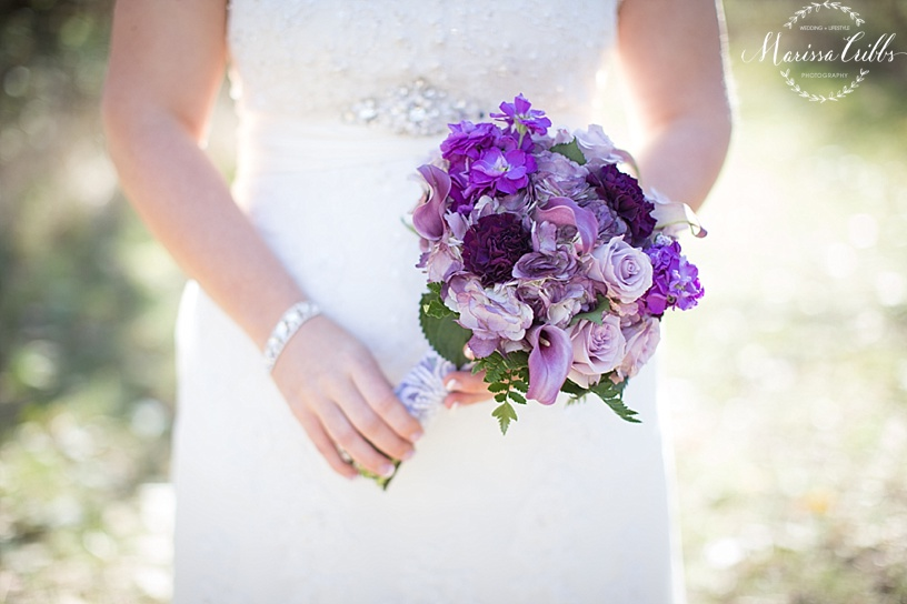 Bridal Bouquet | Marissa Cribbs Photography | KC Weddings