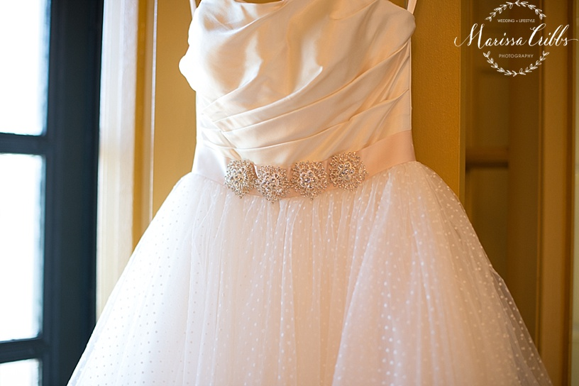 Emily Hart Bridal Gown | The Hilton President Kansas City | Marissa Cribbs Photography