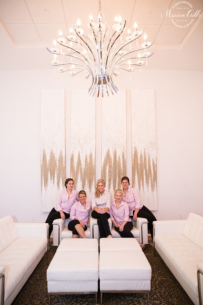 The Gallery Event Space | Bride and Bridesmaids | Marissa Cribbs Photography | KC Wedding Photographer