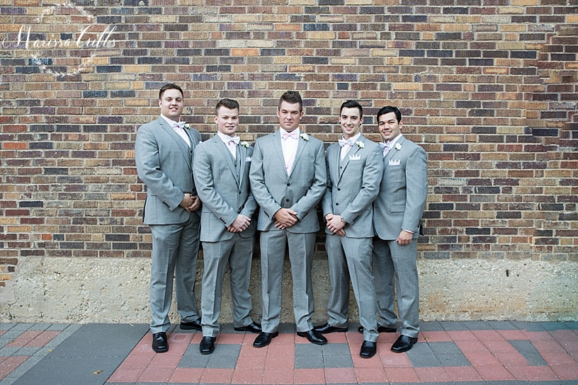 Groom | Groomsmen Photos | KC Wedding Photographer | Marissa Cribbs Photography