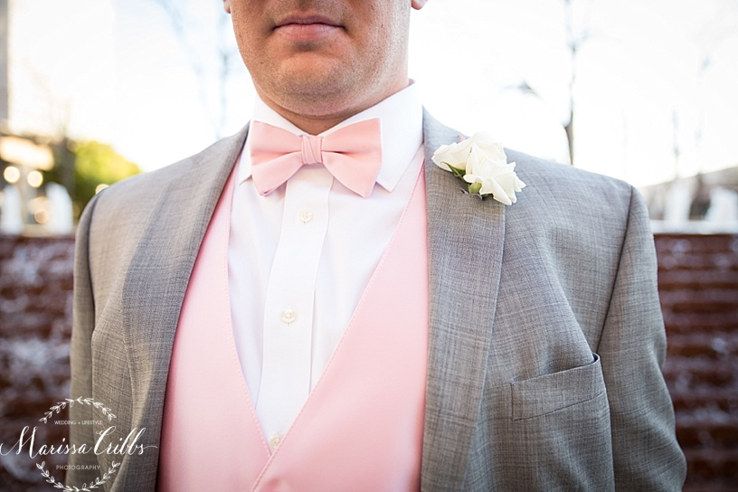 Groom | Marissa Cribbs Photography | Downtown KC | KC Wedding Photographer