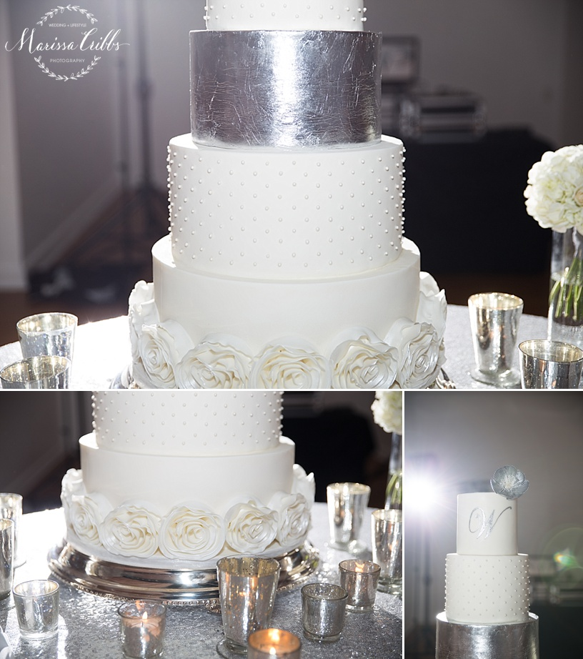 Shannon Bond Cake Design | The Gallery Event Space | Wedding Cake | Marissa Cribbs Photography | KC Wedding Photographer