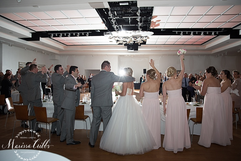 Bride and Groom Introduction | The Gallery Event Space | Marissa Cribbs Photography