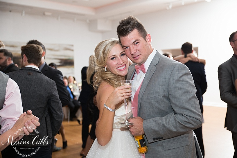 KC Wedding Reception | Marissa Cribbs Photography | The Gallery Event Space | KC wedding Photographer