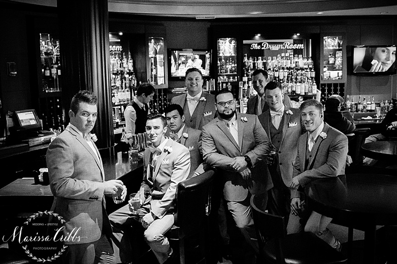 The President Hotel Bar | Downtown KC | Marissa Cribbs Photography | KC wedding Photographer
