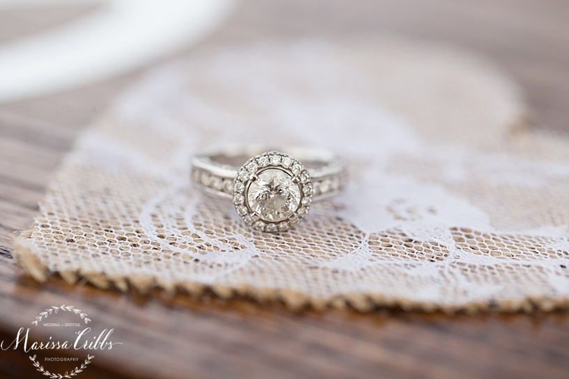 Engagement Ring | Kansas City Engagement Session | Marissa Cribbs Photography