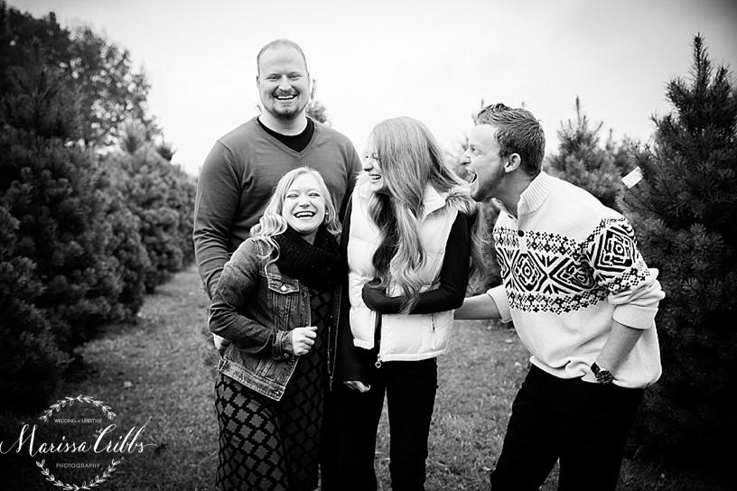KC Christmas Mini Sessions | Midland Holiday Pines | Christmas Tree Farm | Christmas Photos | Family Christmas Photos | Marissa Cribbs Photography