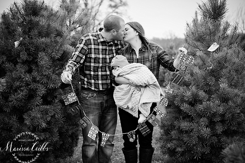 Christmas Mini Sessions | Midland Holiday Pines | Marissa Cribbs Photography