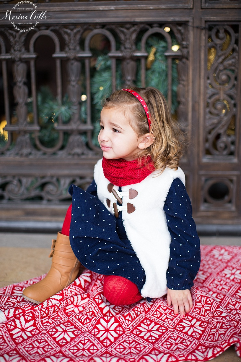 Christmas Photos | Marissa Cribbs Photography | KC Family Photographer