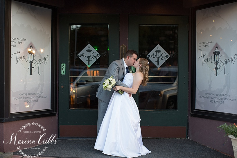 Town Square Paola Wedding| KC Wedding Photographer| Marissa Cribbs Photography | KC Photographer_0993.jpg