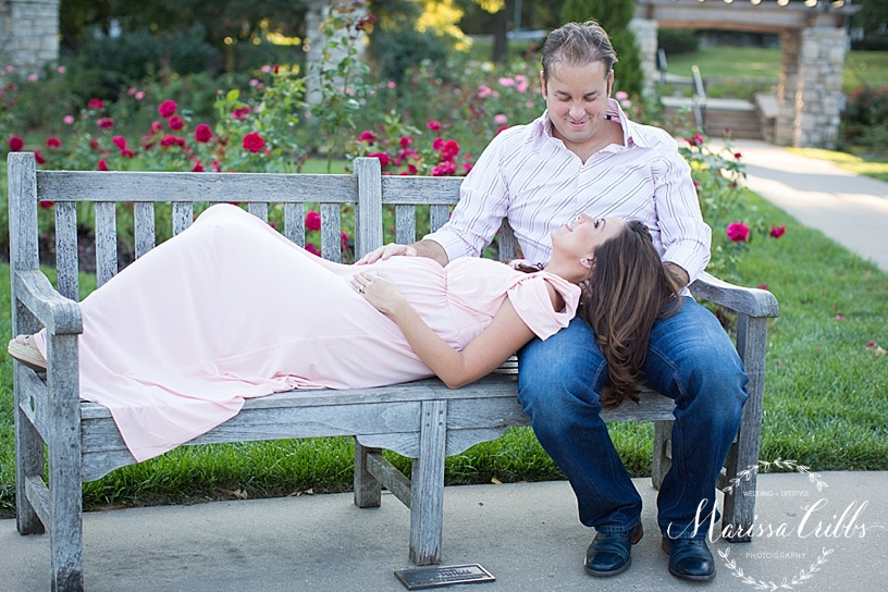 Kansas City Maternity Photographer | Loose Park Photo Session | Marissa Cribbs Photography | KC Photographer_1128.jpg