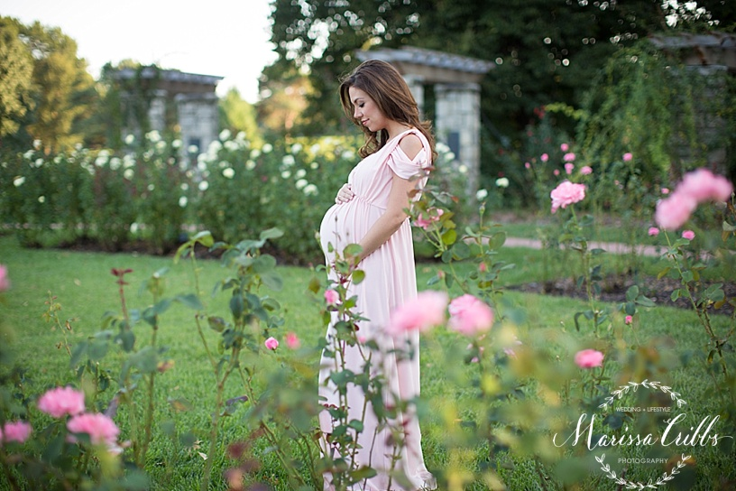 Kansas City Maternity Photographer | Loose Park Photo Session | Marissa Cribbs Photography | KC Photographer_1134.jpg