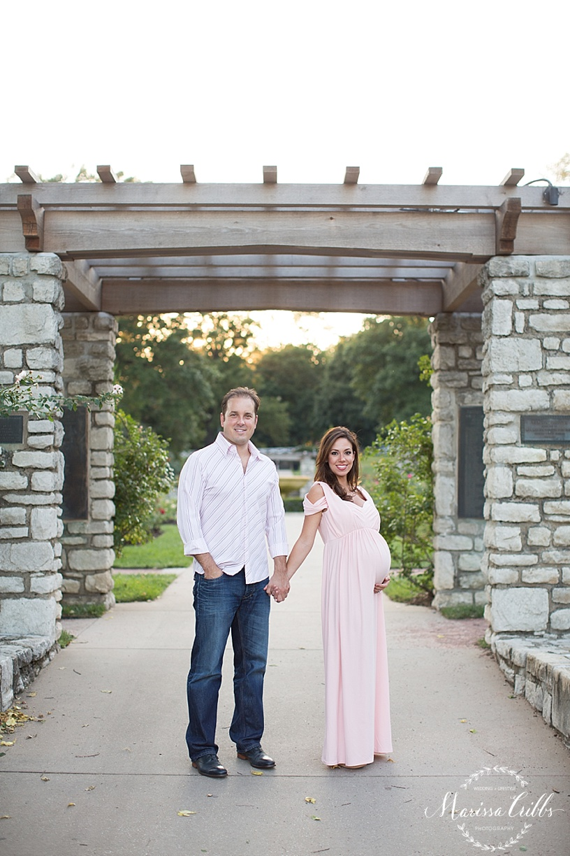 Kansas City Maternity Photographer | Loose Park Photo Session | Marissa Cribbs Photography | KC Photographer_1141.jpg